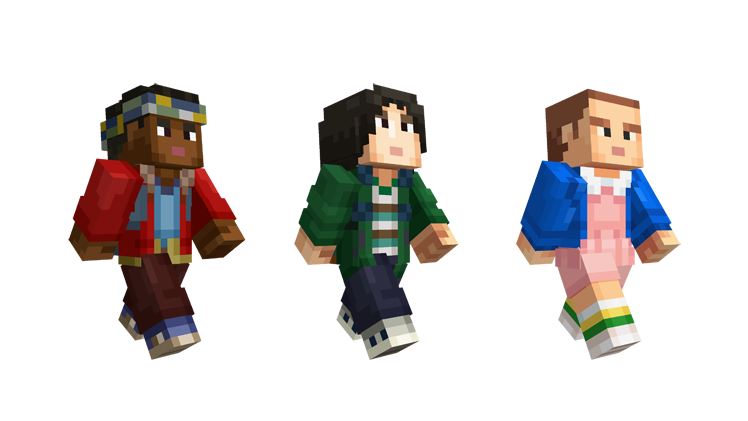 Stranger Things' invades 'Minecraft' with new skin packs
