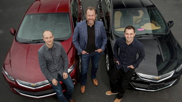 GMとLyft、シボレー「ボルト」の自動運転タクシーを来年にも始動