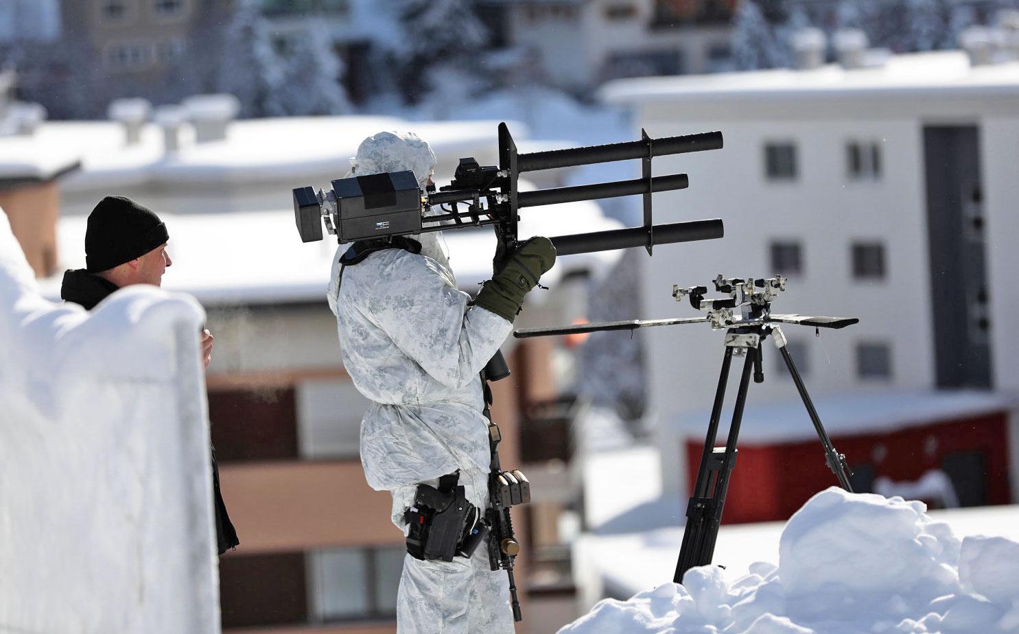 Swiss Cops Use Anti Drone Guns At The World Economic Forum