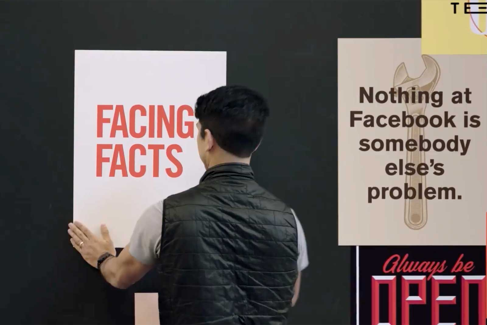 Facebook made a short film about its fight against fake news