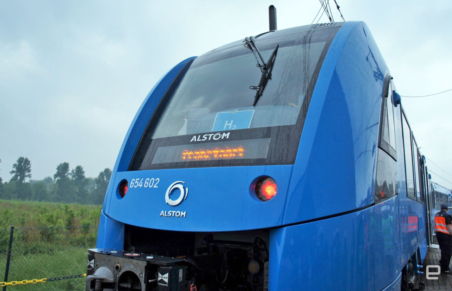 World's First Zero Emission Hydrogen Powered Train Launches In Germany