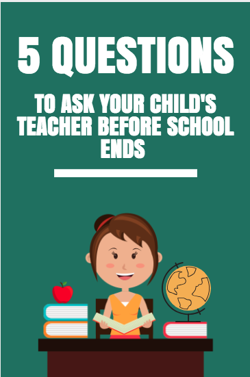 5 Questions To Ask Your Child's Teacher Before School