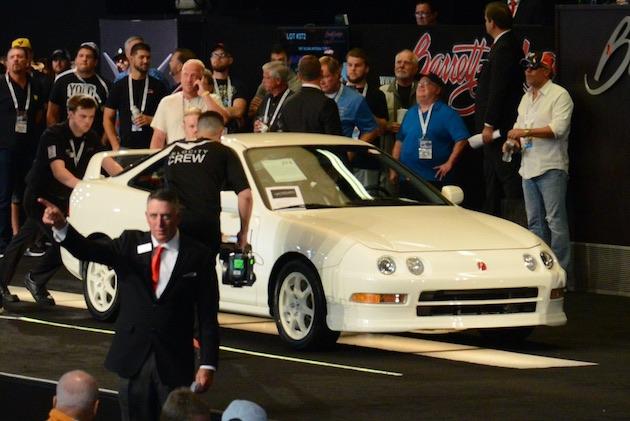 1997年型アキュラ「インテグラ タイプR」、オークションで約730万円という高値を記録!