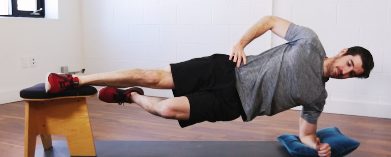 Jesse Awenus shows us how to do an elevated side