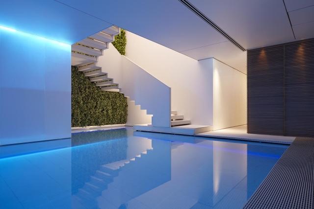 Conservatorium hotel swimming pool, Piero Lissoni