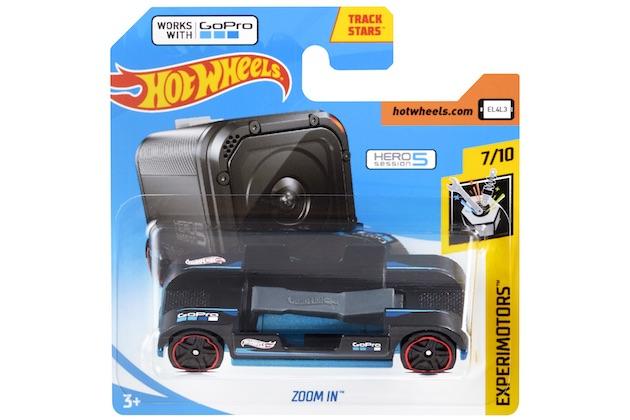 【ビデオ】ホットウィールから、GoProカメラを搭載できるミニカー「Zoom In」が登場!