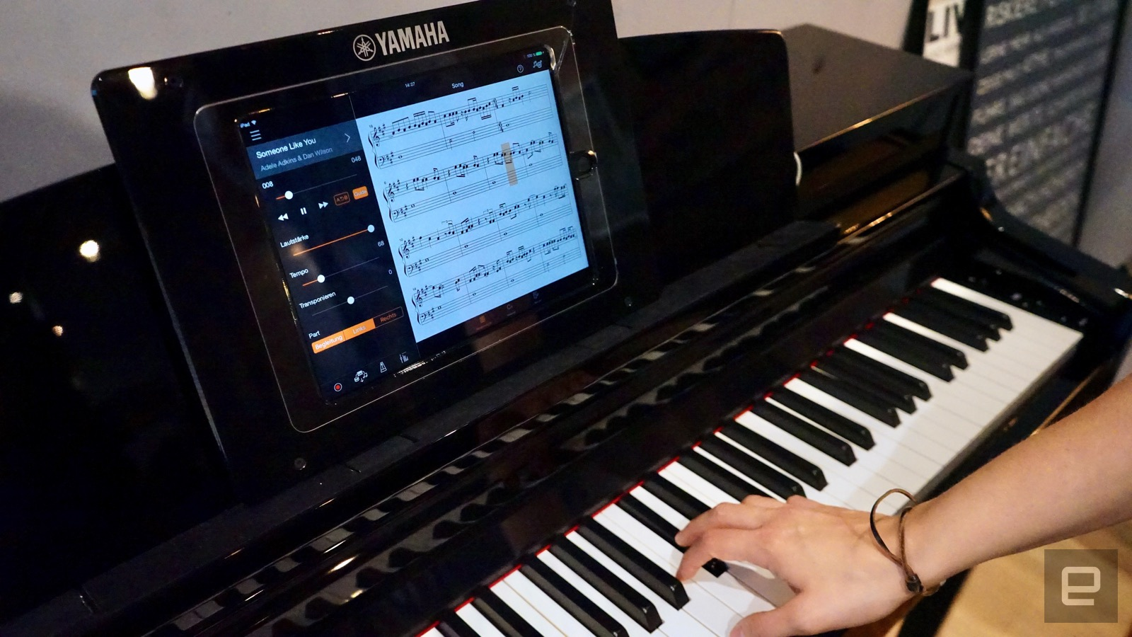 Yamaha 39 s smart pianos work with alexa and teach you how to for Yamaha credit application