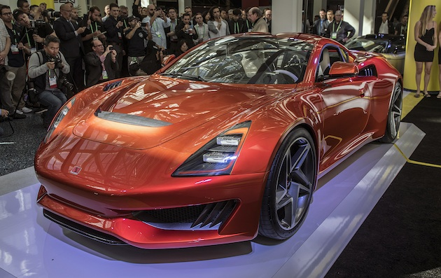 【LAオートショー2017】サリーンが中国資本と提携して開発したコンパクトなミドシップ・スポーツカー「サリーン1」を公開!