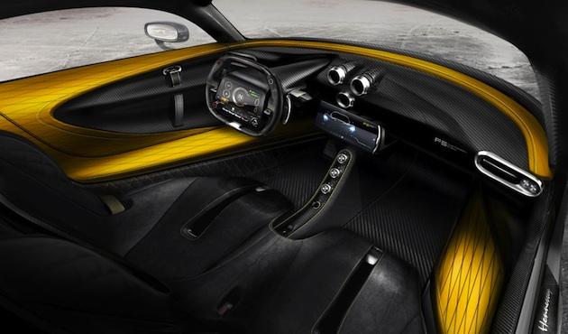 ヘネシー、1,600馬力を謳う新型ハイパーカー「ヴェノム F5」のインテリア画像を公開