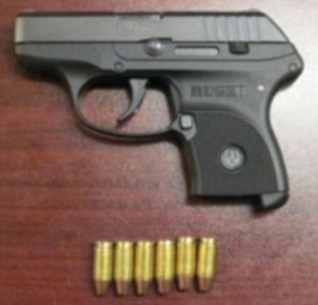 passenger gun caught on flight