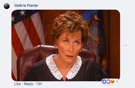 Valérie Plante fait de l'attitude aux «trolls» sur