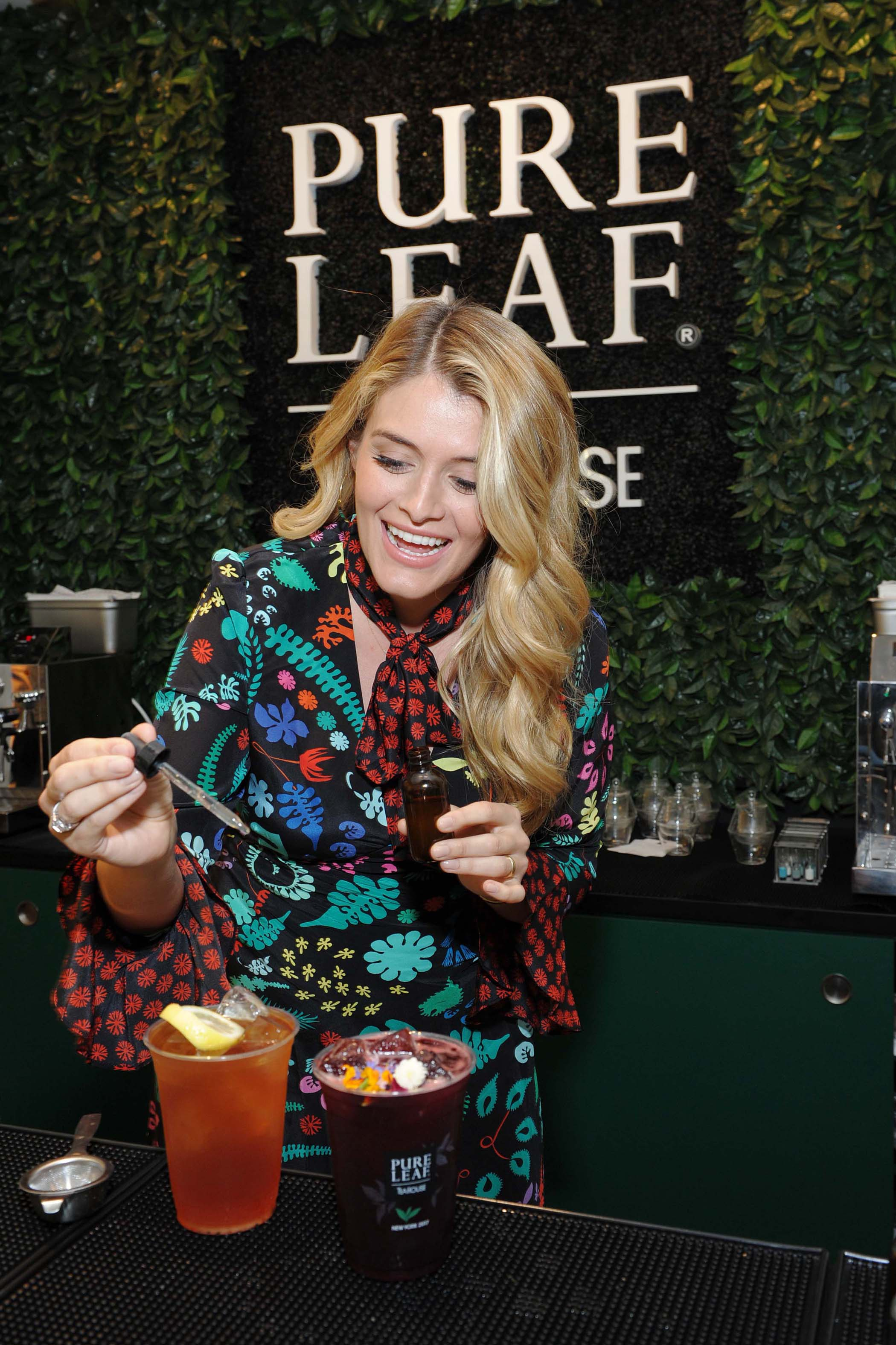 - New York, NY - 06/27/2017 - Daphne Oz celebrates the opening of the Pure Leaf Tea House in Soho NYC.  -PICTURED: Daphne Oz -PHOTO by: Michael Simon/startraksphoto.com -MS389007 Editorial - Rights Managed Image - Please contact www.startraksphoto.com for licensing fee Startraks Photo Startraks Photo New York, NY  For licensing please call 212-414-9464 or email sales@startraksphoto.com Image may not be published in any way that is or might be deemed defamatory, libelous, pornographic, or obscene. Please consult our sales department for any clarification or question you may have Startraks Photo reserves the right to pursue unauthorized users of this image. If you violate our intellectual property you may be liable for actual damages, loss of income, and profits you derive from the use of this image, and where appropriate, the cost of collection and/or statutory damages.