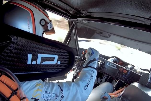 【ビデオ】フォルクスワーゲン、パイクスピークで最速記録を更新した「I.D. R Pikes Peak」の車載映像を公開