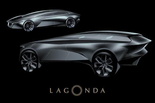 アストンマーティンの超高級車部門ラゴンダ、2021年に市販化を予定している電動SUVの画像を公開