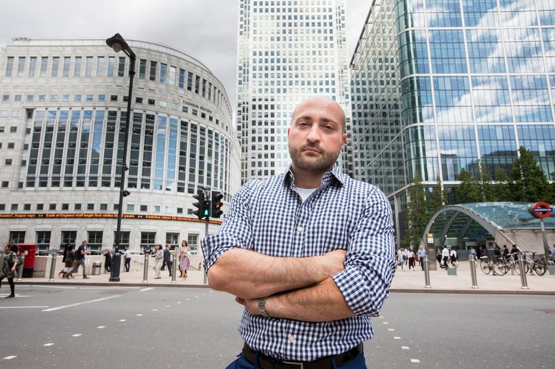 Man banned from Canary Wharf for 'stealing' bacon