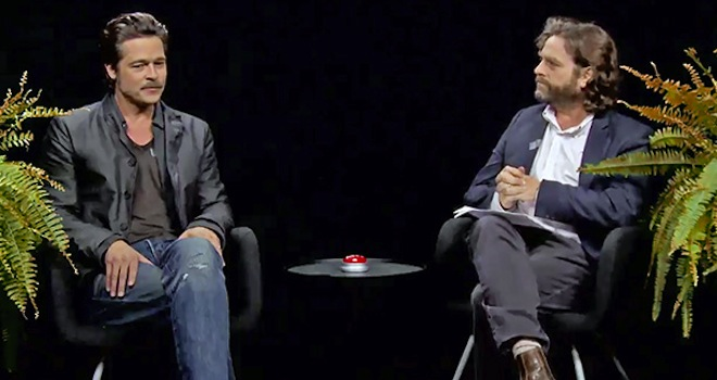 Brad Pitt Between Two Ferns