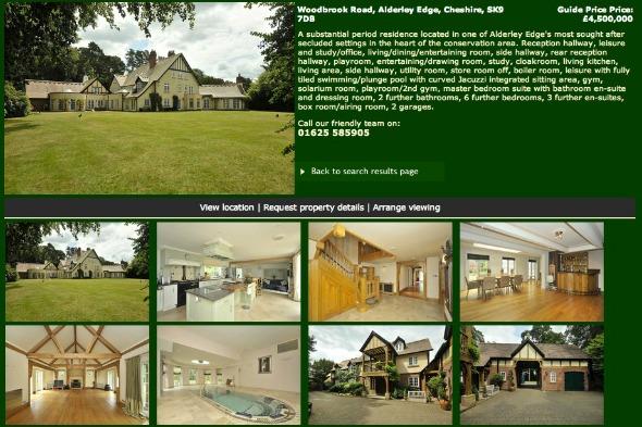 Rio Ferdinand's home for sale