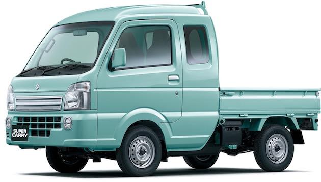 スズキ、キャビンが拡がった新型軽トラック「スーパーキャリイ」を発売!