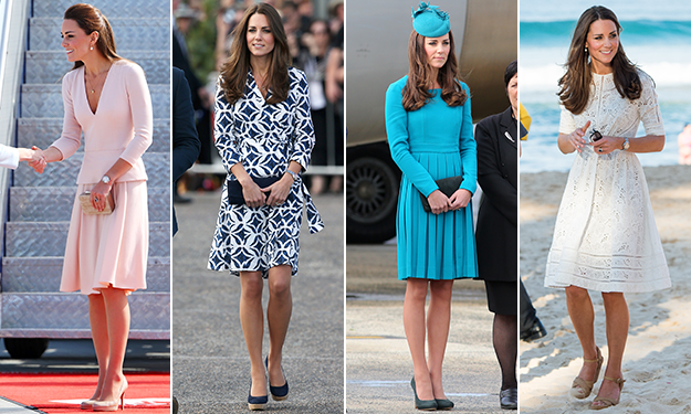 All the stunning looks of Duchess Kate's royal tour down under