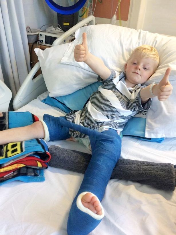 Hero mum lifted 39 stone log off son's legs