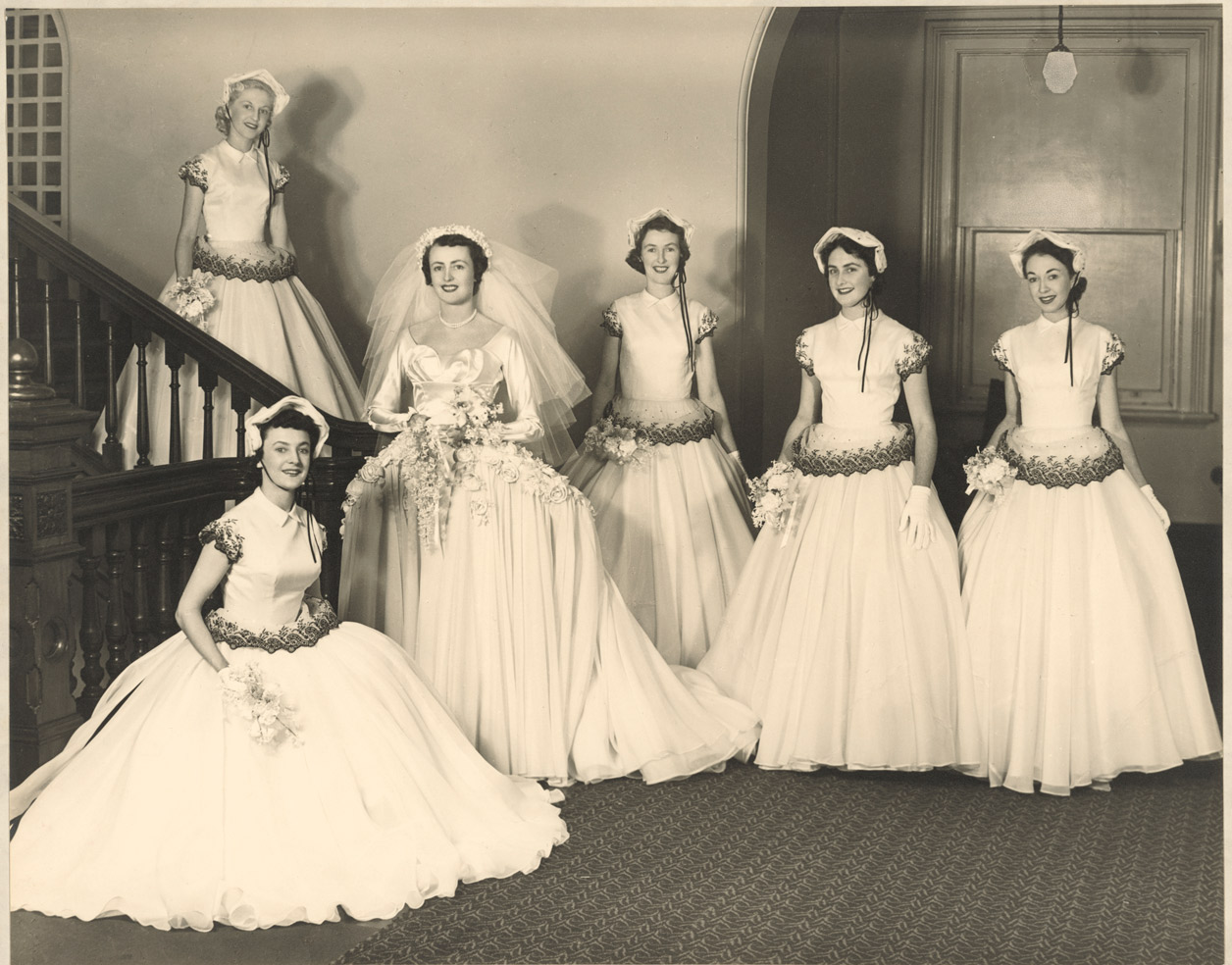 House Museum Betty Mcinerney With Her Bridal Party