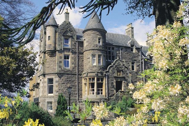 Knock Castle exterior