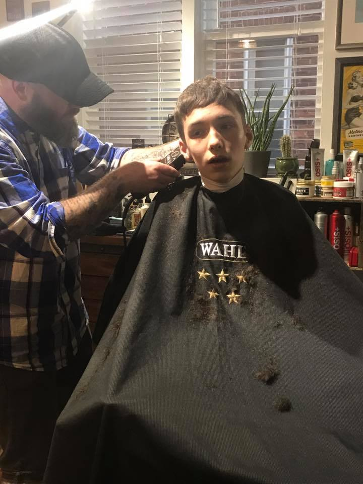 Teen With Autism Just Got His 1st Haircut And It Was Worth The