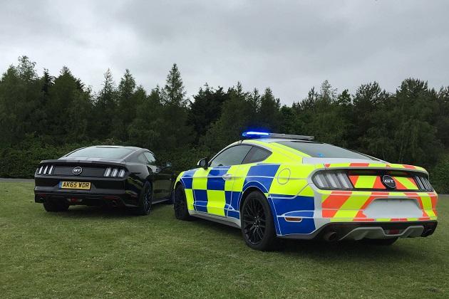 英国警察、フォード「マスタング」のパトカー採用を検討中!?