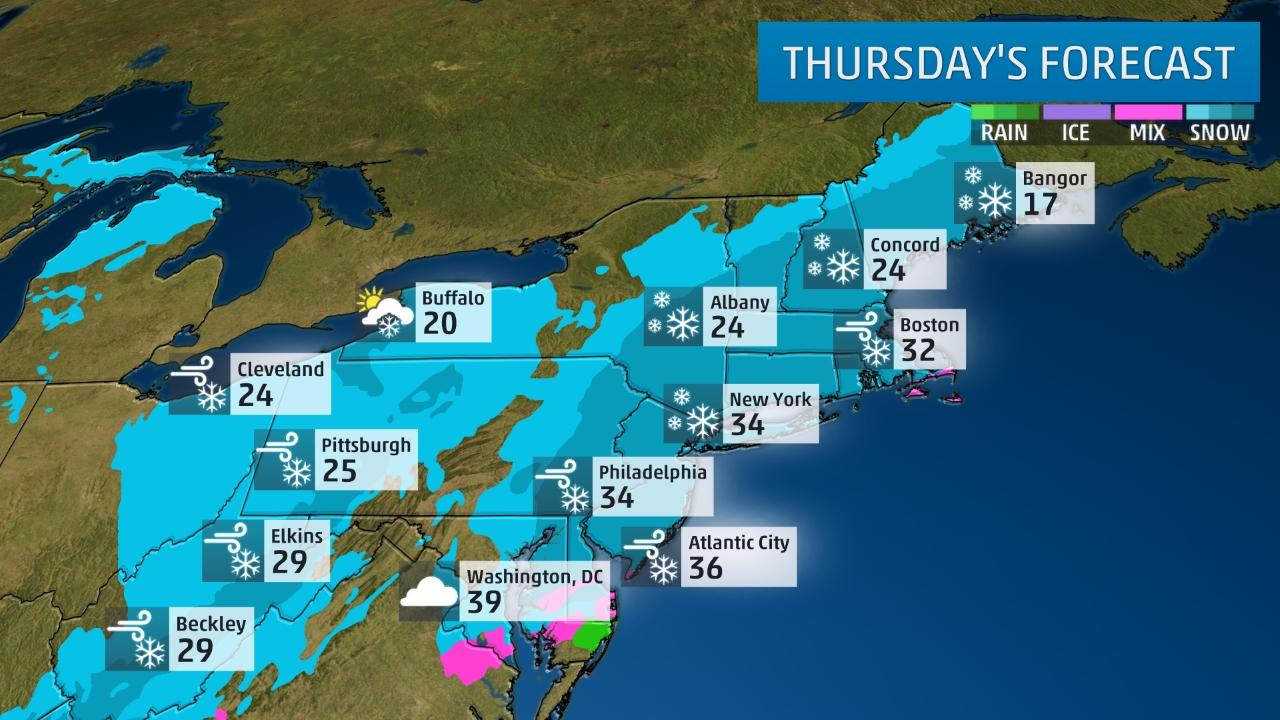 Winter Storm Warning Bring It On Says >> Winter Storm Niko To Become A Northeast Snowstorm Winter Storm