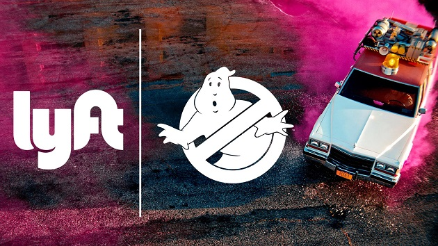 【ビデオ】Lyftと『ゴーストバスターズ』のタイアップで、「Ecto1」をタクシー代わりに使えるサービスが実現