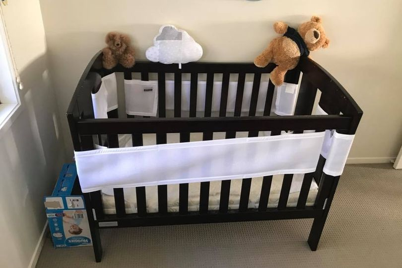 Snake spotted lurking by baby's bed