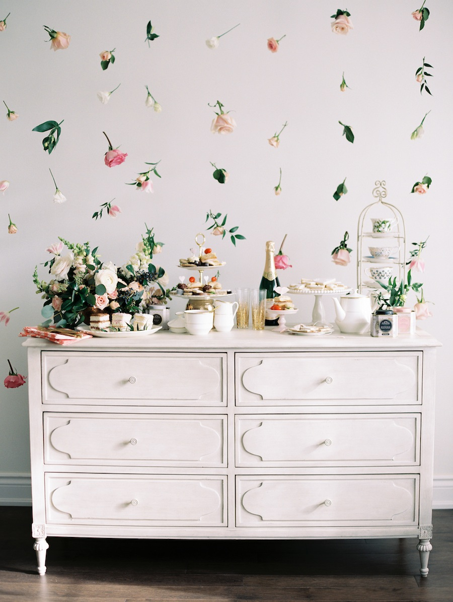blogger home decor for Easter florals