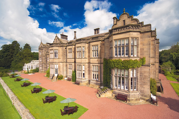 win a stay at Matfen Hall Hotel, Golf and Spa
