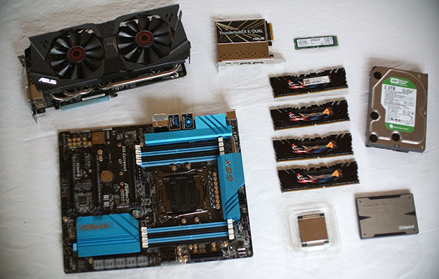 how to build a high end overclocked pc as written by an idiot