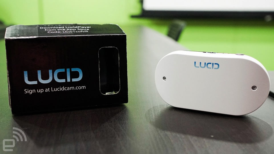 3D VR 视频轻松拍,LucidCam 登台动眼看
