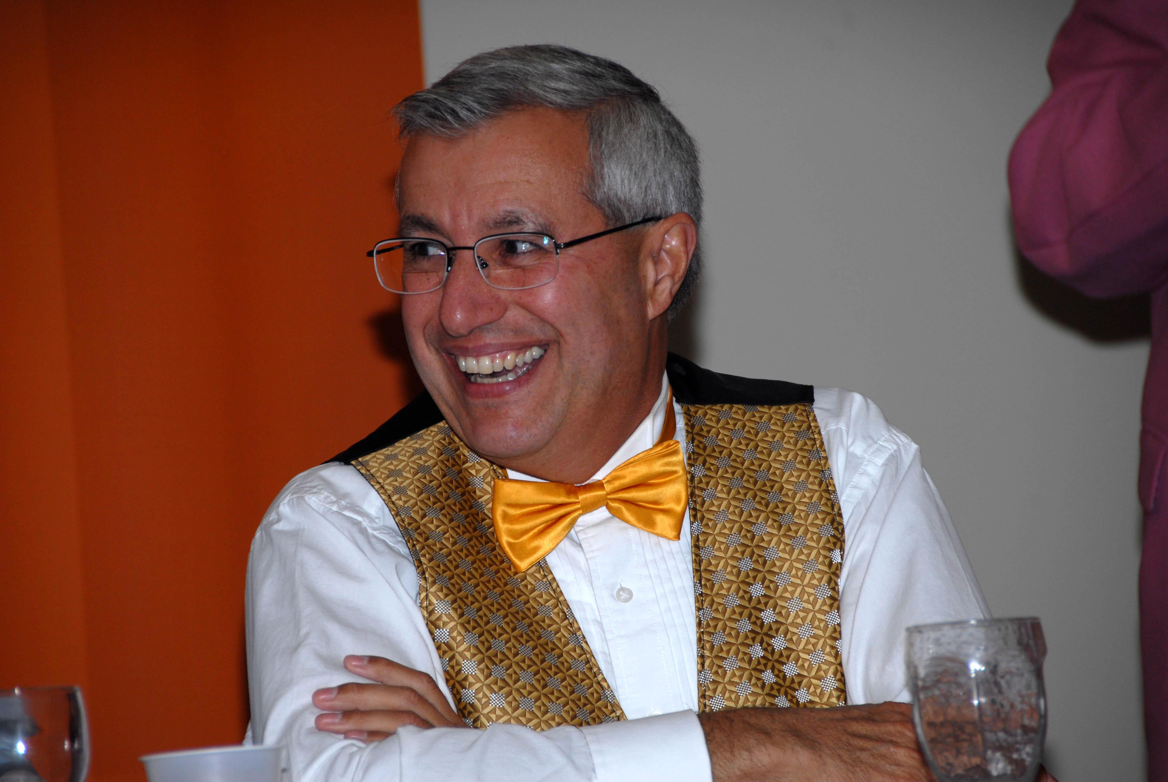 Ontario MPP Vic Fedeli in his trademark