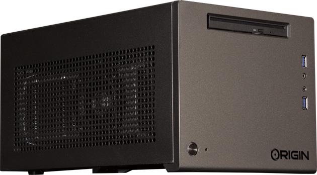 Origin PC Omega in a more conventional 'breadbox' shape