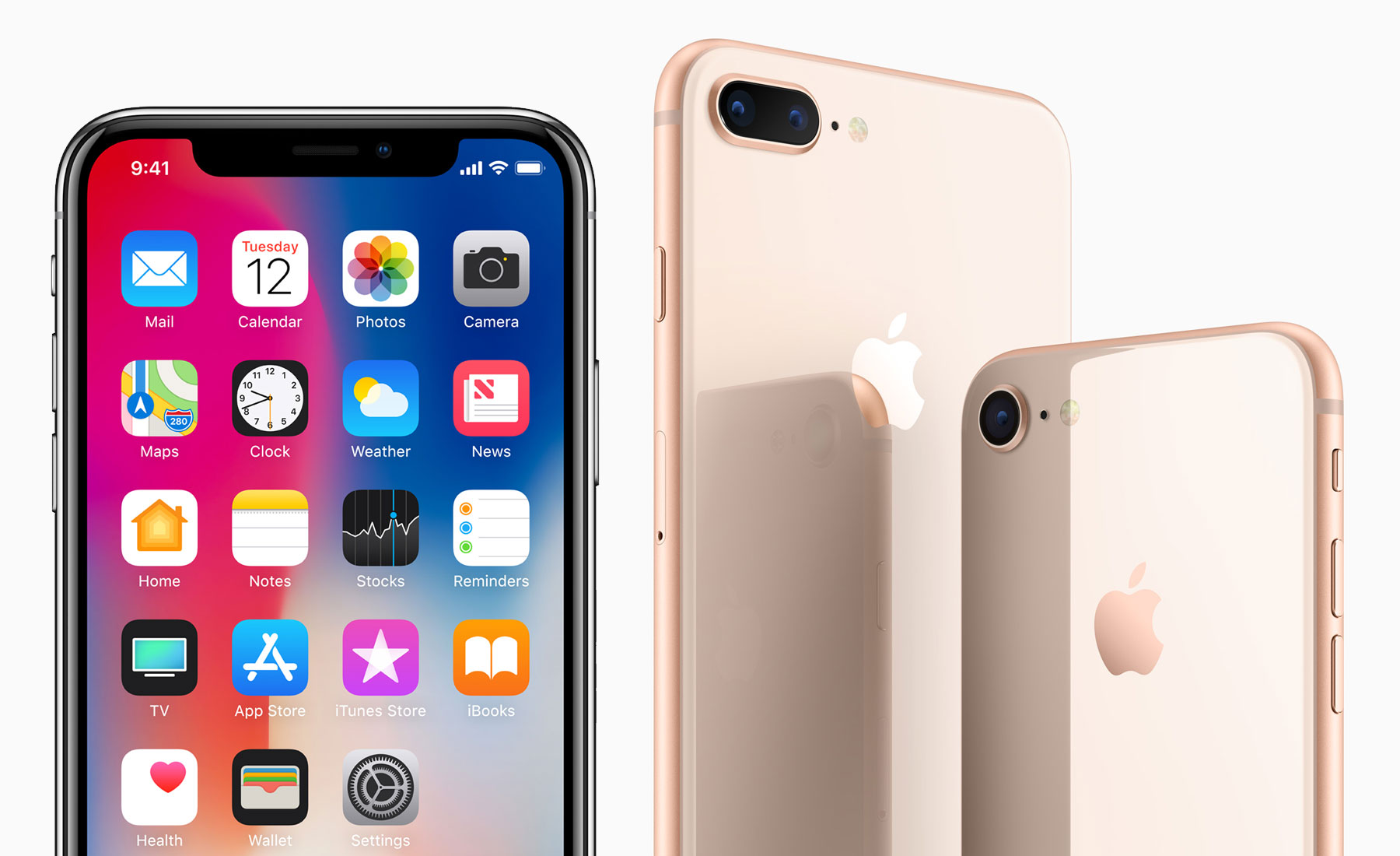 Comparing the iphone x iphone 8 and iphone 8 plus apple stopboris Images
