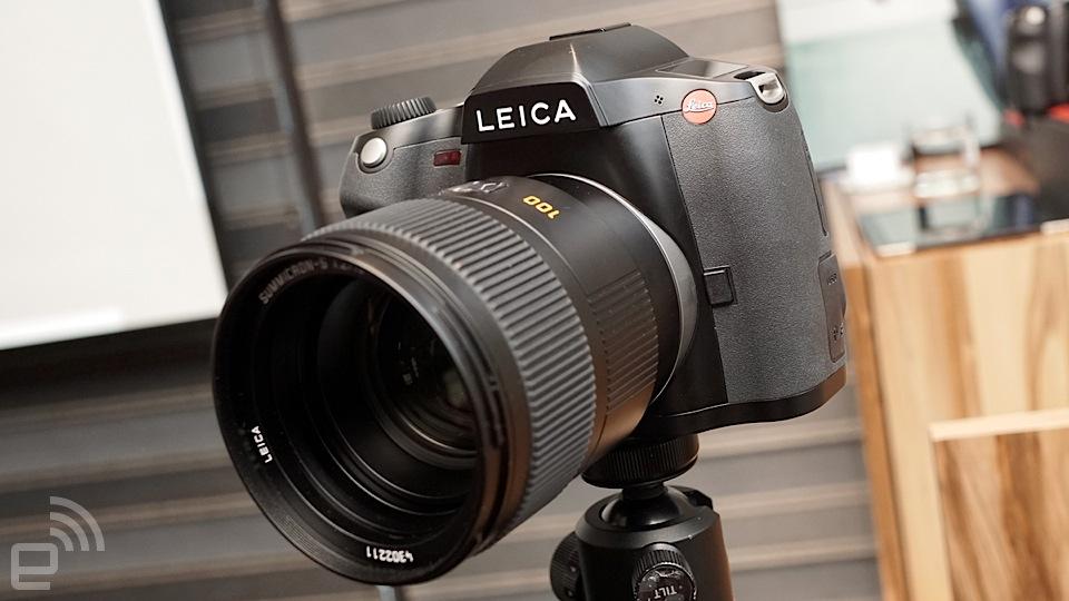 气质中片幅相机 Leica S(Typ 007)台湾发布动手玩
