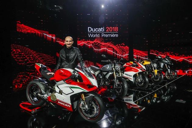 ドゥカティ、最もMotoGPマシンに近い「パニガーレ V4」など4車種の新型モデルを公開