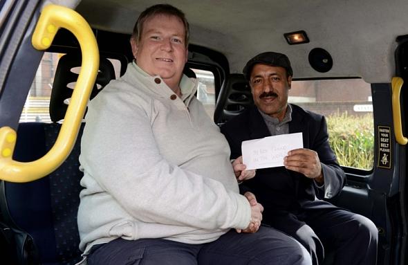 Car dealer and cabbie