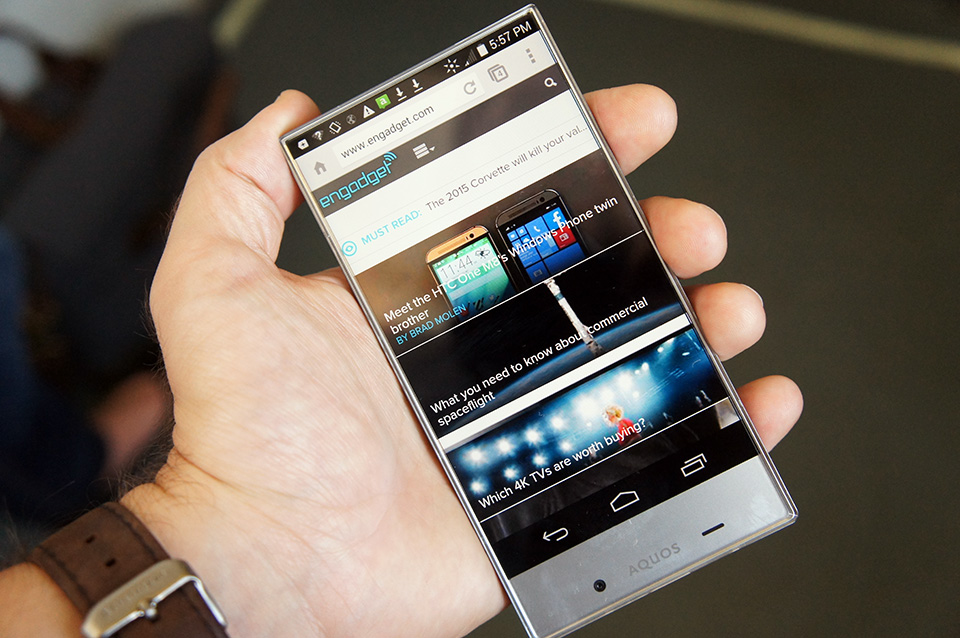 Sharp Aquos Crystal X is the upcoming bezelless high-end phone ...