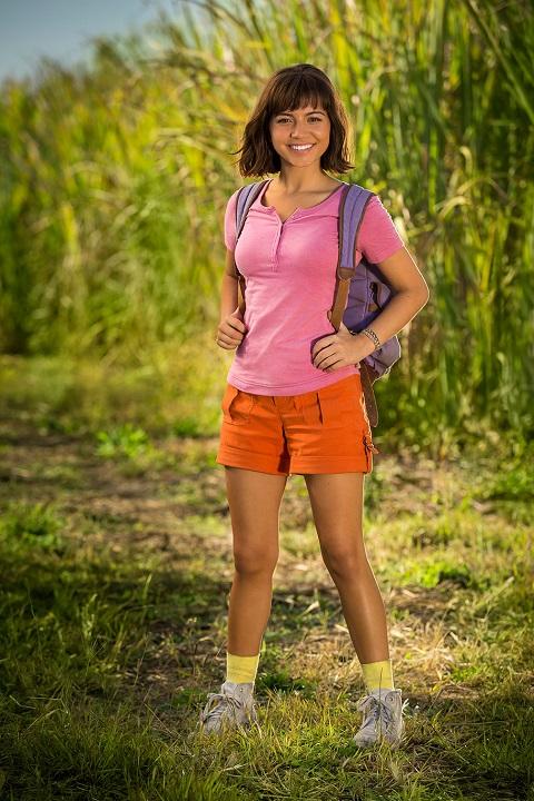 Une première image de l'actrice Isabela Moner en Dora