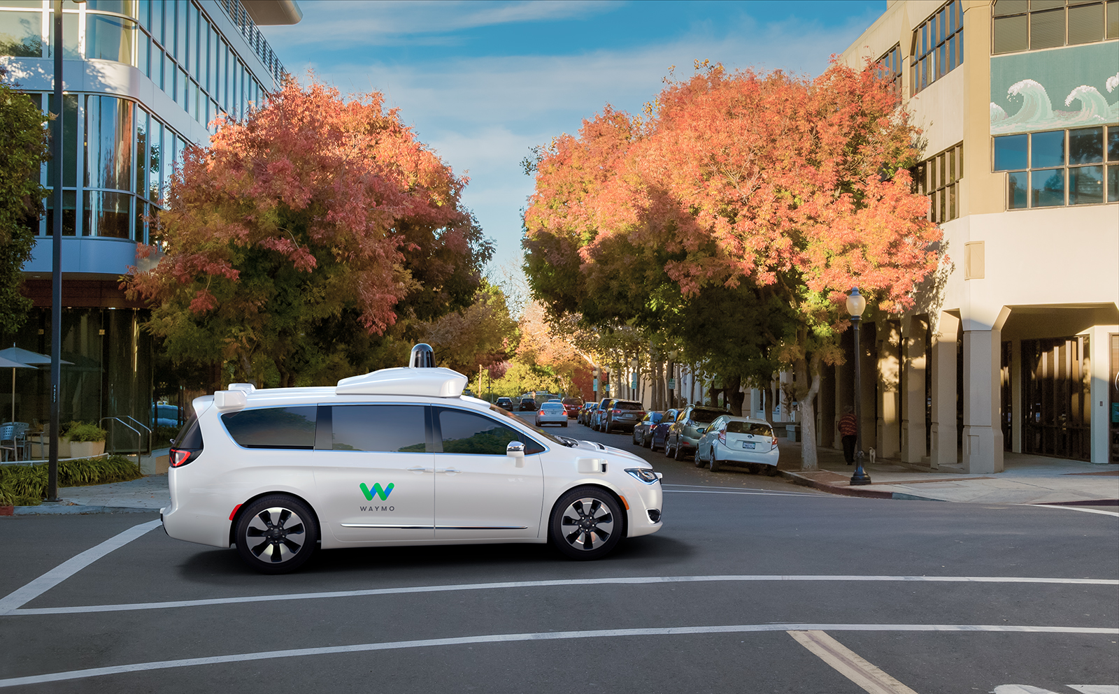 3858d700381728 Waymo orders thousands of Chrysler vans for self-driving taxi service