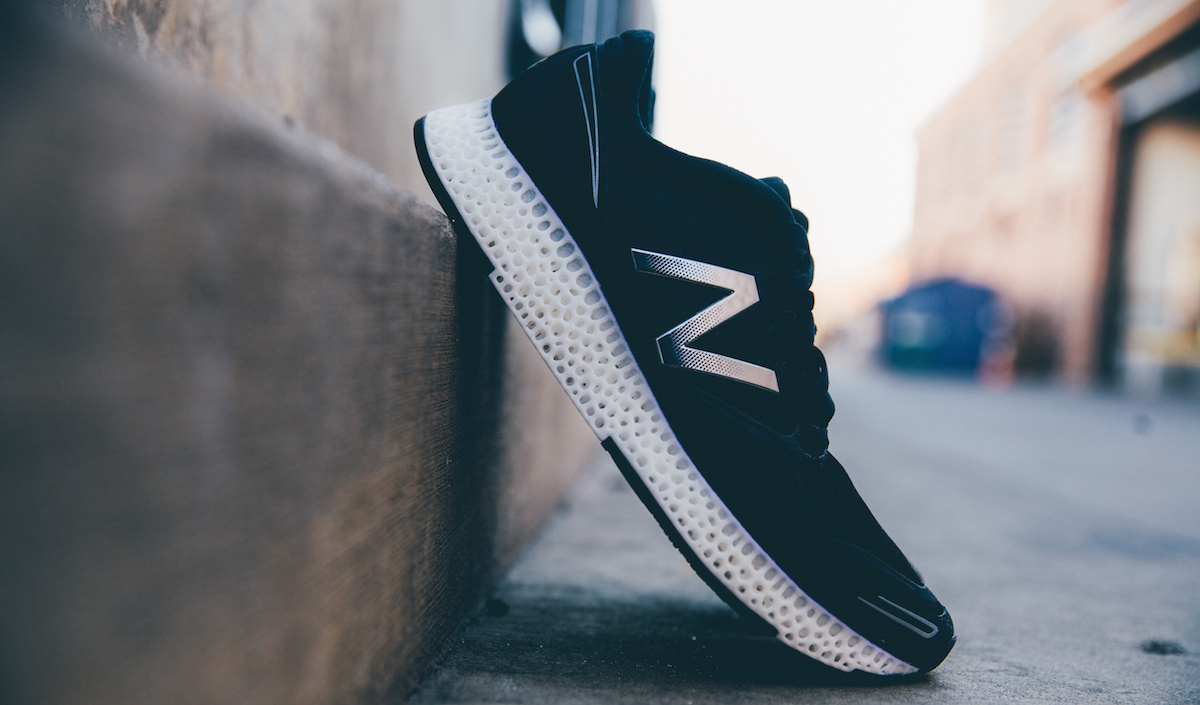New balance - 3D printing for girls