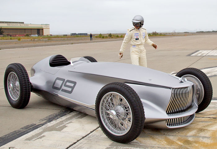 Infinity Prototype 9 concept EV first look