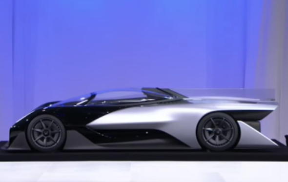 Faraday Future Has Revealed A New Battery Ed Concept Car At The Ces Technology Show In Las Vegas