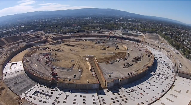 Drone footage of the new Apple headquarters in Cupertino is stunning