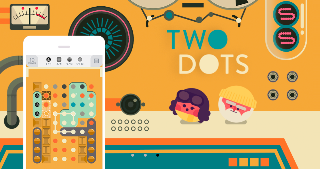 Two Dots' now has a competitive mode where you can play for real money
