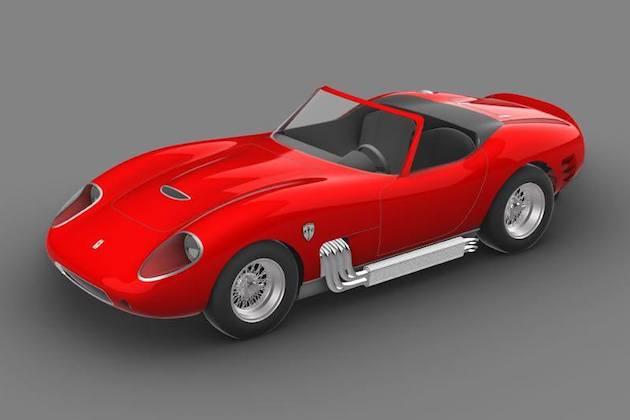 スクーデリア・キャメロン・グリッケンハウス、レトロな2人乗りスポーツカーの発売を予告! 650馬力で約2,800万円